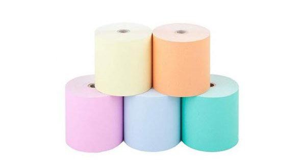 کاغذ رولی رنگی
